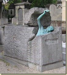 Tombe de Georges Rodenbach à Paris