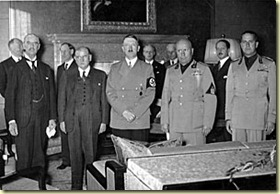 Accords de Munich en 1938
